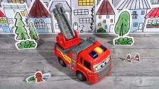 Camión de bomberos Scania Happy Series